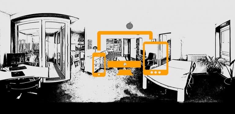 visite virtuelle responsive pour l'immobilier